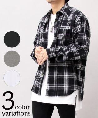 【UnitedAthle】5.6オンスロングレングスTシャツ/ロング丈/Tシャツワンピ/ロングスリットT