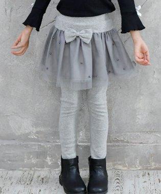 レギンス付きスカート