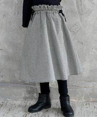 ふんわりシルエットがカワイイ♪Aラインスカート!