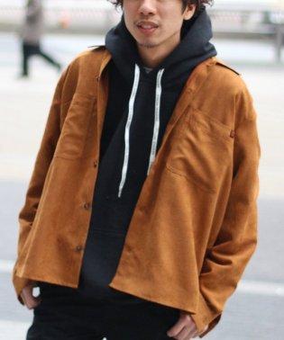 《予約》【19SS】UNIVERSAL OVERALL×relume / 別注 スウェードシャツ
