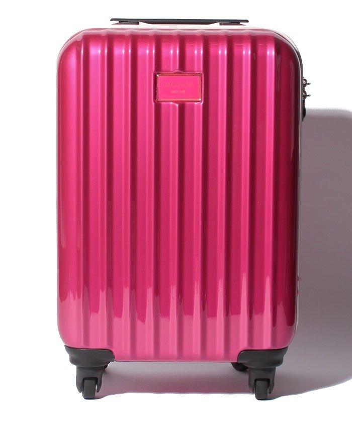 (BENETTON (women)/ベネトン レディース)【S】静走ラインキャリーケース・スーツケース機内持込可 容量約29L 静音/レディース レッド