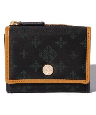 パイピング三つ折り財布