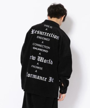 Dankeschon/ダンケシェーン/コーデュロイBIGシャツ