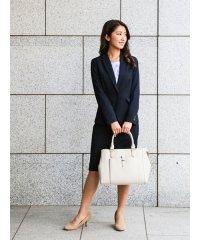 ストレッチウォッシャブル セットアップタイトスカート 紺