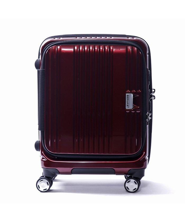 (BERMAS/バーマス)【日本正規品】バーマス スーツケース BERMAS EURO CITY ユーロシティ 機内持ち込み 38L 60290/ユニセックス レッド