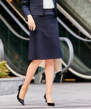 【洗える】LUXE STRETCH PONTE フレアスカート