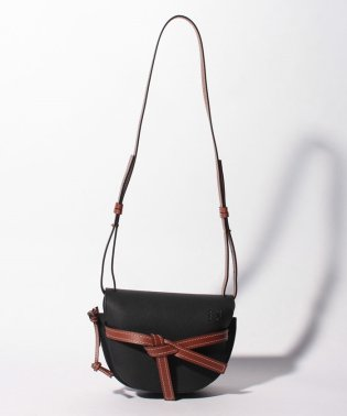 【LOEWE】ショルダーバッグ/GATE SMALL【BLACK/PECAN COLOR】
