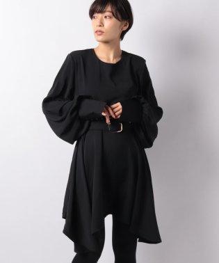 【GHOSPELL】80s Shoulder Mini Dress