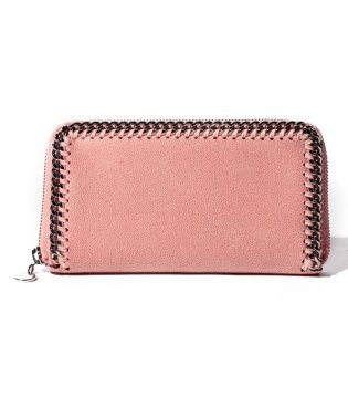 【STELLA McCARTNEY】SMALL FLAP WALLET  FALABELLA【BLUSH】