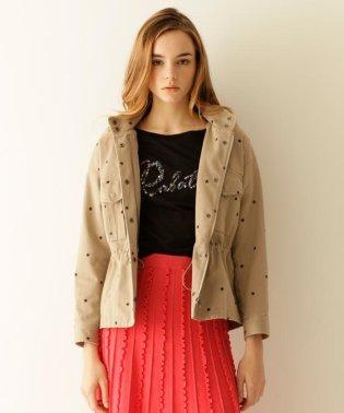 刺繍アーミージャケット