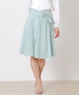 【Ray6月号掲載】《プチサイズあり》前ボタンフレアースカート