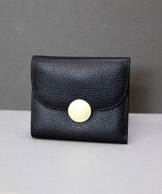 【本革】 タッセル付き 三つ折り財布 / 二つ折り財布