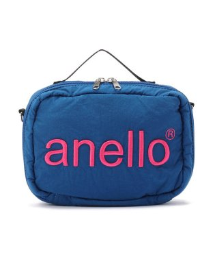 anello/アネロ/HDT立体刺繍ネーム ショルダーバッグ《AT-H1902》