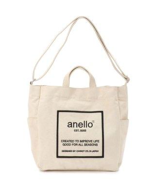 anello/アネロ/ロゴ刺繍 2WAYショルダーバッグ《AI-C2552》