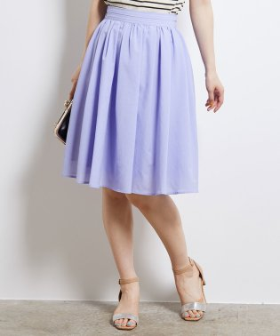 【WEB限定:着丈が選べる】タックベルトサップギャザースカート