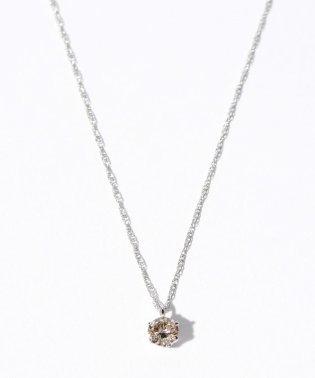 PT 天然ダイヤモンド 0.3ct VLB/SI/GDアップ 6本爪ネックレス GGS鑑定書付