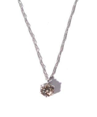 PT 天然ダイヤモンド 0.3ct VLB/VVS-1/GDアップ 6本爪ネックレス GGS鑑定書付