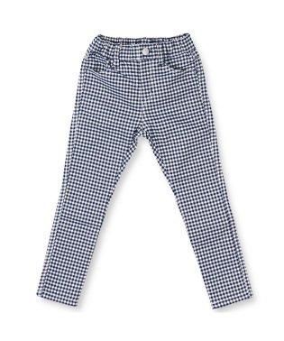 プレミアムストレッチチェック柄パンツ(80~150cm)