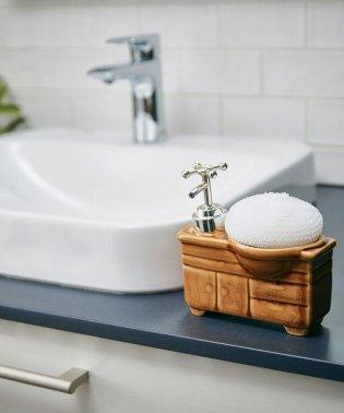ソープディスペンサー「bathroom sink(バスルームシンク)」 キャメル