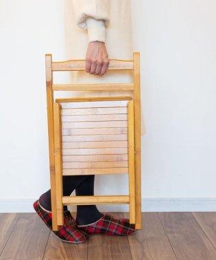 竹製折りたたみチェア