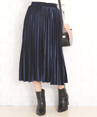 ウエストゴムプリーツスカート 韓国 ファッション レディース ゆったり かわいい おしゃれ 動きやすい【A/W】【vl-5315】