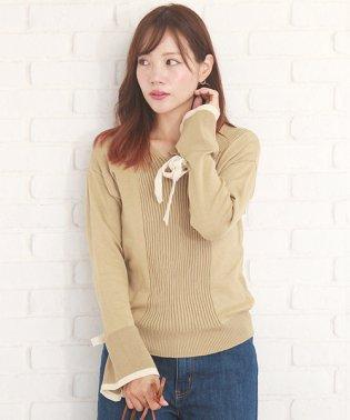 長袖ニットセーター 韓国 ファッション レディース ゆったり あったか かわいい おしゃれ【A/W】【vl-5317】