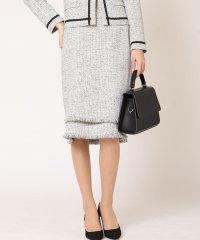 【セットアップ対応商品】【マザーニーズ対応】ラメツイードタイトスカート