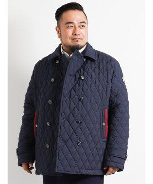 【大きいサイズ】SINA COVA (シナコバ)キルティングピーコート