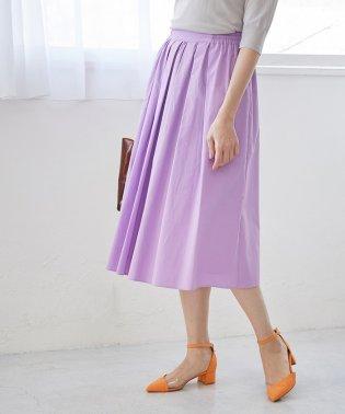 【WEB限定】【SS/S/Lサイズあり】タイプライタータックギャザースカート