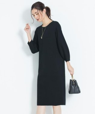 【洗える】DOUBLE CLOTH ニットワンピース