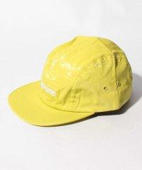 COATED LINEN CAMP CAP