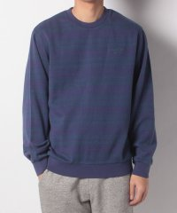 DASH STRIPE CREWNECK