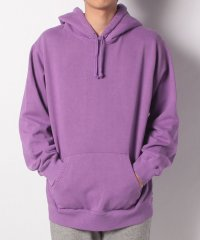 OVERDYED HOODED SWEAT