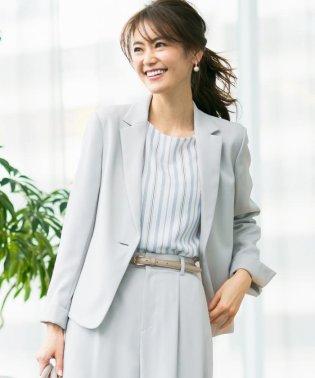 【セットアップ対応】コンパクトダブルクロステーラード ジャケット