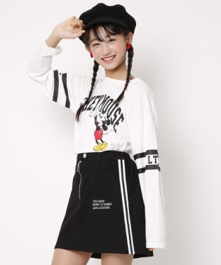 【ニコラ1月号掲載】ミッキーマウスデザイン Tシャツ