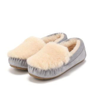 EMU/エミュー/【別注】CAIRNS REVERSE FUR METALLIC CHARCOL
