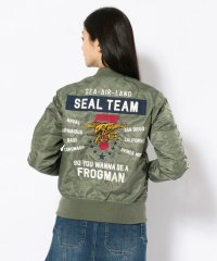 【Women's】ライトMA-1 シールチーム7/LIGHT MA-1 SEAL TEAM 7
