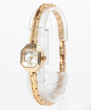 〈Ara〉Elegant octagon watch/エレガント 八角形ケースウォッチ ブラス
