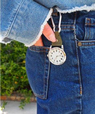 〈Deep Dyed/ディープダイ〉Carabiner pocket watch/カラビナポケットウォッチ