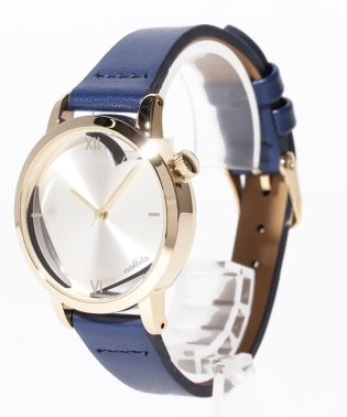 〈nattito/ナティート〉Heart transparent watch/ハート型スケルトン腕時計