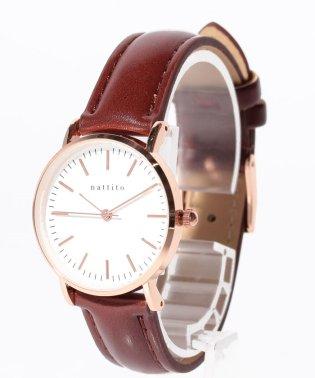 〈nattito/ナティート〉Simple Watch ダニー