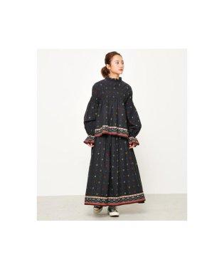 オリエンタル フラワー スカート