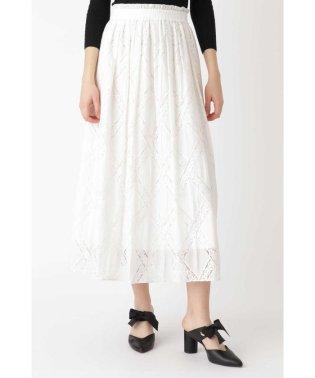 ◆ With4月号掲載 リミエンブロイダリーギャザースカート