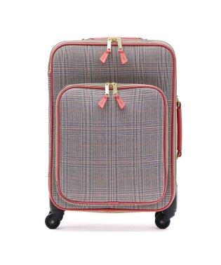 ツモリチサト トラベル スーツケース tsumori chisato TRAVEL キャリーケース グレンチェックキャリー 30L 1泊 2泊 4235