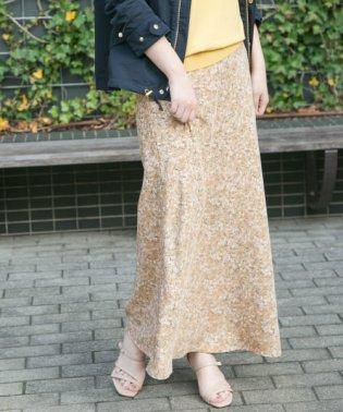 【予約】Aラインフラワープリントスカート