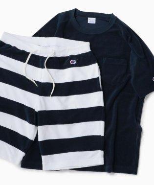 Champion×SHIPS: 別注 NEW パイル セットアップ (Tシャツ×ショーツ)