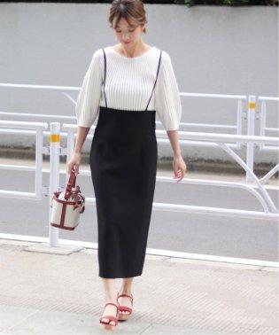 《19S/S予約》ショルダーストラップサロペットスカート◆