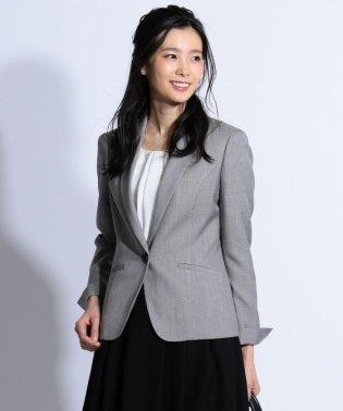 【スーツ対応】シルクレーヨンスーティング テーラード ジャケット