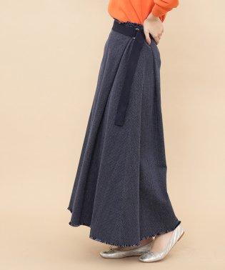 刺子アジャストロングスカート
