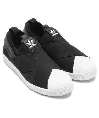 adidas Originals SUPER STAR SLIP ON W  CORE BLACK/CORE BLACK/RUNNING WHITE
